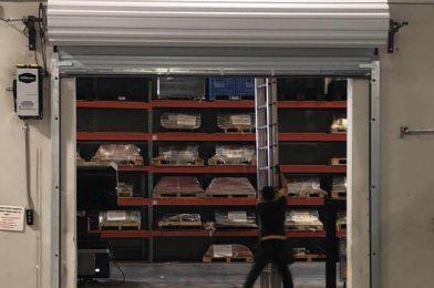 Rollup Commercial Garage Door Installation