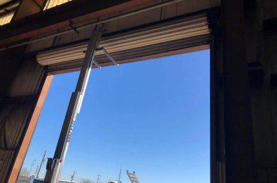 Rollup Commercial Garage Door Installation Houston