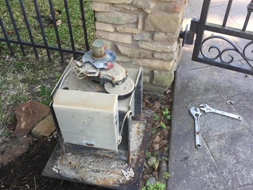 automatic gate opener repair