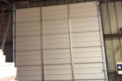 commercial garage door service company in houston