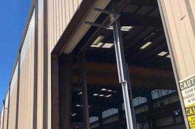 commercial rollup garage door installation