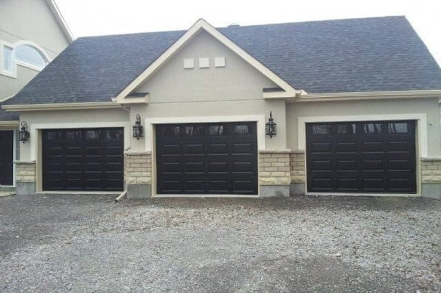 Wooden Garage DOor