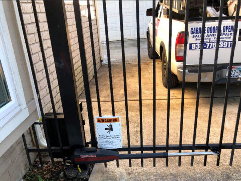 liftmaster driveway swing gate opener