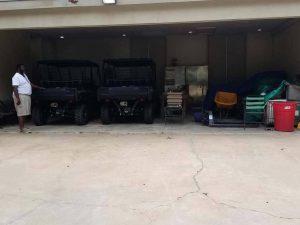 1.parking garage with no door - Before
