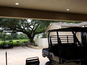 2.parking garage with no door - Before