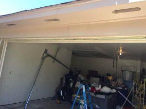 4.garage door tracks installation