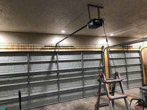 7.garage door installation inside view