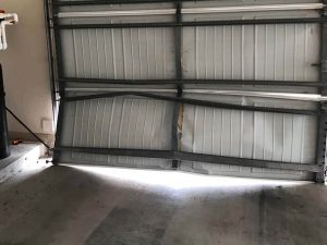 Bent Garage Door Repair