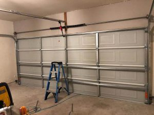 Garage Door Broken Springs Replacement 1