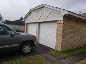 Garage Door Replacement-before