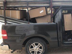 Garage Door Service Truck
