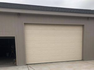 aluminum garage door installation (4)