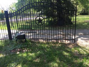 automatic swing gate repair