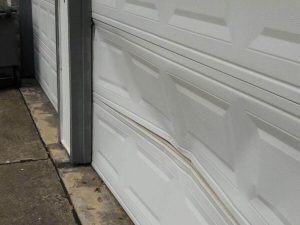 bent-garage-door-repair