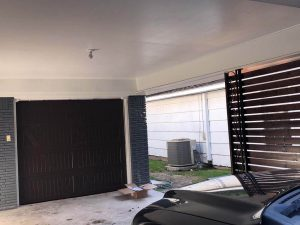 brown wooden garage door installation (2)