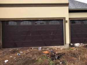 brown wooden garage door installation (4)