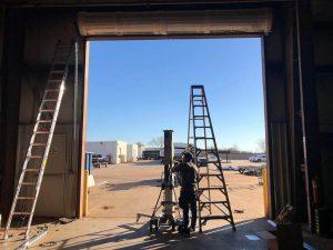 commercial garage door replacement (2)