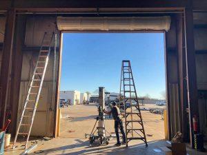 commercial rollup garage door installation (7)