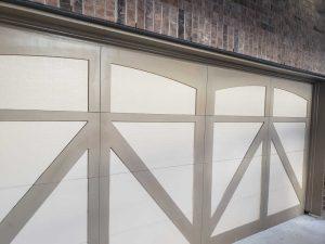 custom size carriage garage door