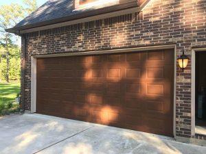 garage door painting service - after