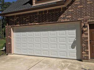 garage door painting service - before