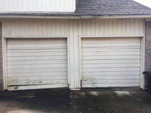garagedoorsinto1-before hostone