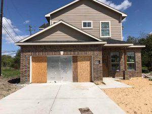 new garage door installation-before